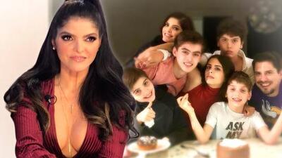 Ana Bárbara tiene pareja y ya hasta convive con sus hijos