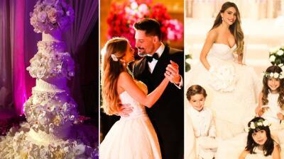 Foto a foto la boda de Sofía Vergara y Joe Manganiello