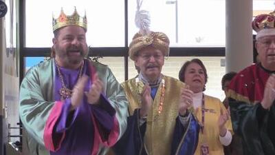 Reyes Magos trajeron alegría a los niños del CRIT de San Antonio