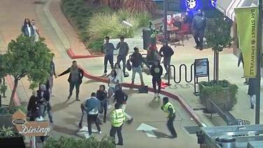 Arrestan a adolescentes por atacar a una mujer y un oficial fuera de servicio en un centro comercial del este de la Bahía
