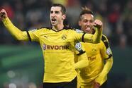 Borussia Dortmund gana en Augsburgo y pasa a cuartos de Copa alemana