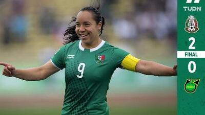México femenino arrancó con triunfo en Panamericanos
