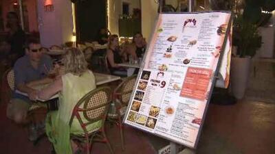 Comisión de Miami Beach aprueba nuevas regulaciones para los restaurantes de la ciudad