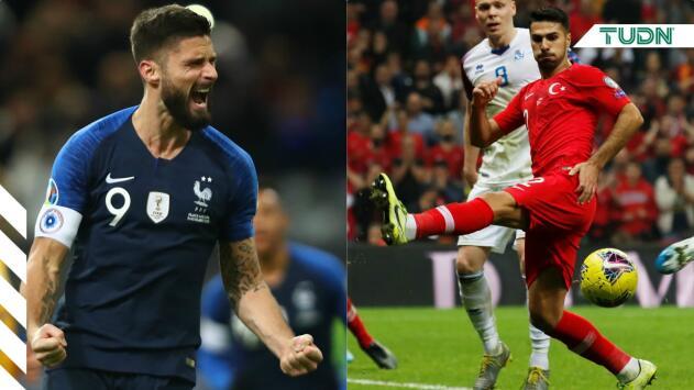 ¡Una más! Las participaciones de Francia y Turquía en las Eurocopas