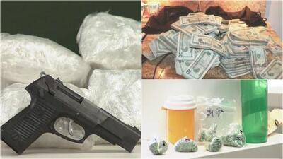 Autoridades decomisan drogas, armas y dinero del narcotráfico en el sur de California