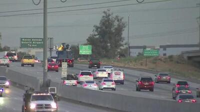 Miles de conductores se verán afectados por el cierre de la autopista 60 entre Ontario y Riverside