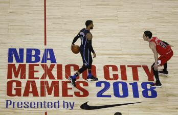 En fotos: Orlando Magic frena remontada de los Chicago Bulls y gana en Ciudad de México