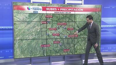 Así estará el clima para lo que resta del martes en Atlanta y Georgia