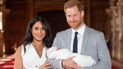 Meghan Markle y el príncipe Harry revelan el nombre de su bebé
