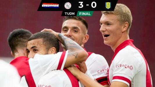 Consigue Ajax su segundo triunfo en la Eredivisie