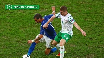 Sigue minuto a minuto los partidos Italia-Irlanda y Suecia-Bélgica