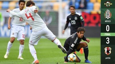 ¡Fiasco mexicano! El Tri cae 0-3 con Japón y está prácticamente eliminado del Mundial Sub-20