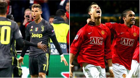 Memoria genética: Cristiano celebró con gol los 12 años de su primera anotación en la Champions