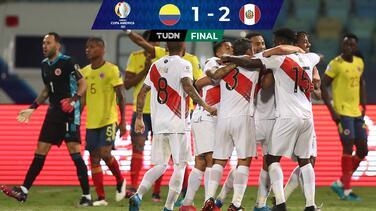 Con el debut de Ormeño, Perú sorprendió a Colombia