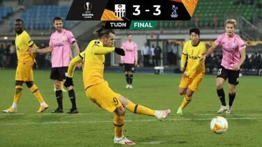 Tottenham igualó con el LASK y avanzó en la UEFA Europa League