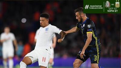 Jadon Sancho hizo una dedicatoria muy especial tras marcar sus primeros goles con Inglaterra