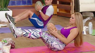 ¡Convierte tu casa en un gimnasio! Claudia Molina te dice cómo