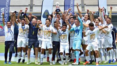 En fotos: Pumas goleó al Atlas y se coronó en el Clausura 2019 de la Liga MX Sub-17