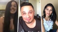 Christy y Columba: las dos chicas que pusieron nervioso a Jesse Turner en la entrevista con Raúl Brindis