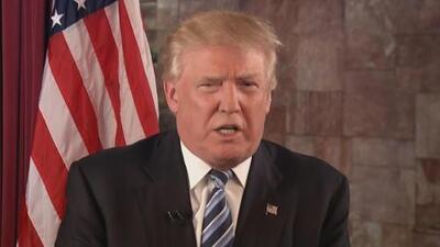 Trump agradece su nominación como candidato del Partido Republicano
