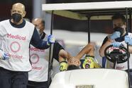 Jugador de Olimpia que fracturó a López se queda sin castigo