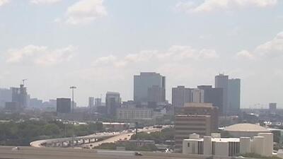 Houston se prepara para una tarde de jueves soleada y de condiciones secas