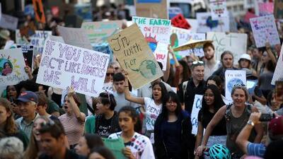 """""""Los jóvenes estamos en las calles dispuestos a asegurar un futuro"""": la lucha de un dreamer por el medio ambiente"""