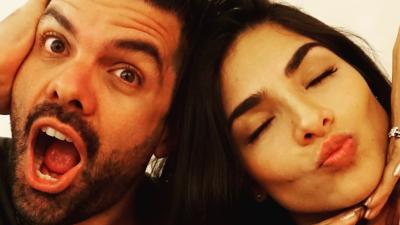 Amor del bueno: en fotos la historia de Alejandra Espinoza y Aníbal Marrero