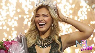 NBL Extra: Migbelis Castellanos reacciona a su histórica victoria en Nuestra Belleza Latina