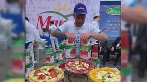 """Con """"mucho corazón"""", Luca di Marinis logró convertirse en el mejor pizzero del mundo y nos compartió su secreto"""