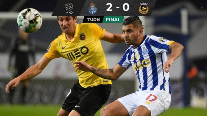Festeja 'Tecatito' Corona 250 juegos en Porto con triunfo