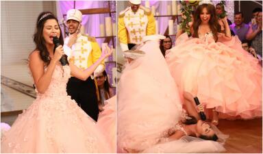 En fotos: Ana Patricia dejó a Thalía con la boca abierta por esta coreografía