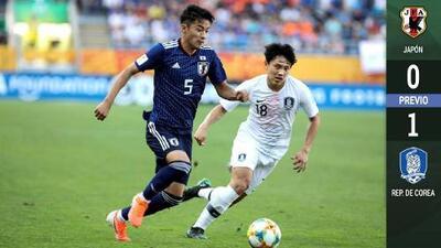 Corea ganó el clásico asiático y avanzó a Cuartos de Final