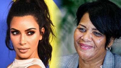 Nunca había escuchado el nombre de Kim Kardashian, pero ahora guarda su foto en la biblia