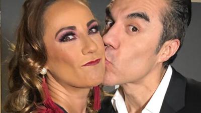 Consuelo Duval teme enamorarse de Adrián Uribe