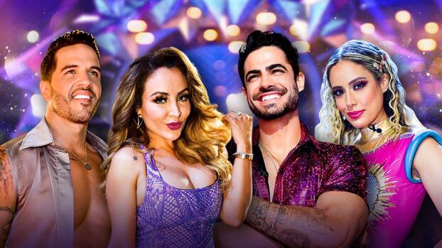 Como todos unos profesionales, así llegan Aleyda, La Bronca, Roberto y Yisus a la final de Mira Quién Baila Univision All Stars