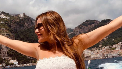Sofia Vergara showing off her vacation body