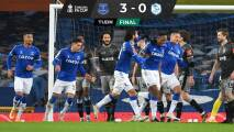 Everton, con James y Mina, avanzó en la FA Cup