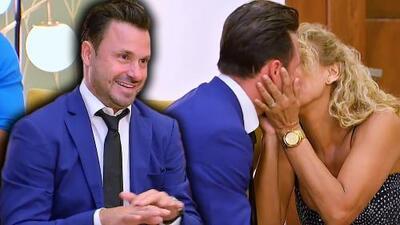 Cristian Zuárez se fue de 'Inseparables' pidiéndole matrimonio a su novia
