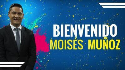 ¡Bienvenido a TUDN, Moisés Muñoz!