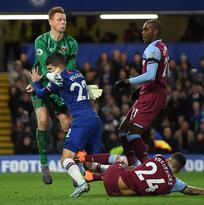 Chelsea, con Pulisic, tropieza en casa ante el West Ham