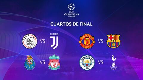 Así quedaron definidos los cruces de los Cuartos de Final de la UEFA Champions League