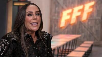 Inés Gómez Mont, ansiosa de que empiece la competencia en Famlias Frente al Fuego