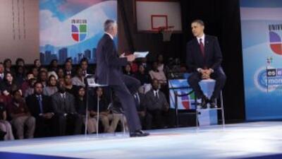 Transcripción del foro comunitario con el Presidente Obama