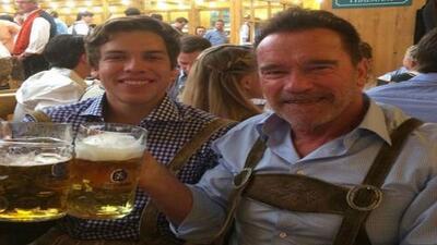 GYF digital: Arnold Schwarzenegger y su hijo Joseph Baena se han convertido en grandes amigos