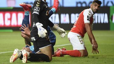 La lesión no fue tan grave, Mateus Uribe sufrió un esguince de rodilla