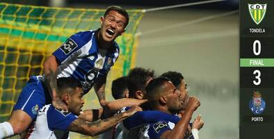 Héctor Herrera liquidó en la goleada del Porto al Tondela