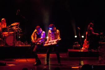 Aleks Syntek ofreció un concierto muy íntimo en San Diego