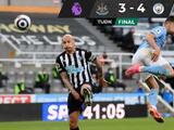 Un partido de locura acabó en triunfo para el Manchester City