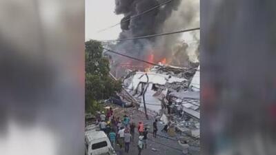 Al menos dos muertos y múltiples heridos deja explosión en fábrica de plásticos en República Dominicana